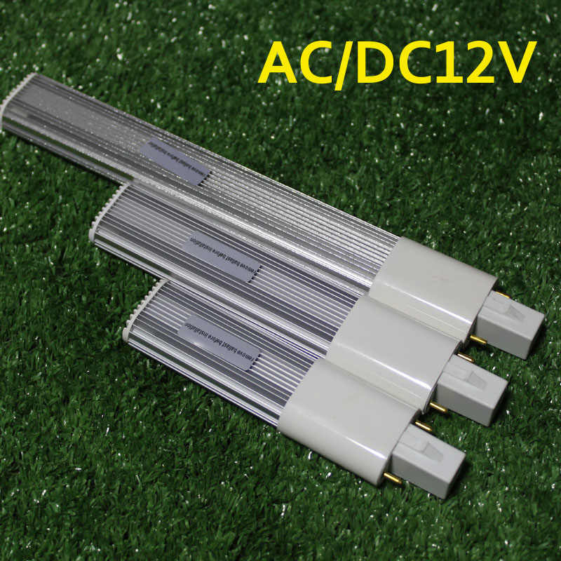 12V G23 LED הנורה 4W 6w 8W 10W WarmWhite ac 12V UltraThin dc12v LED lightLamp בית דקו טבעי לבן מגניב לבן