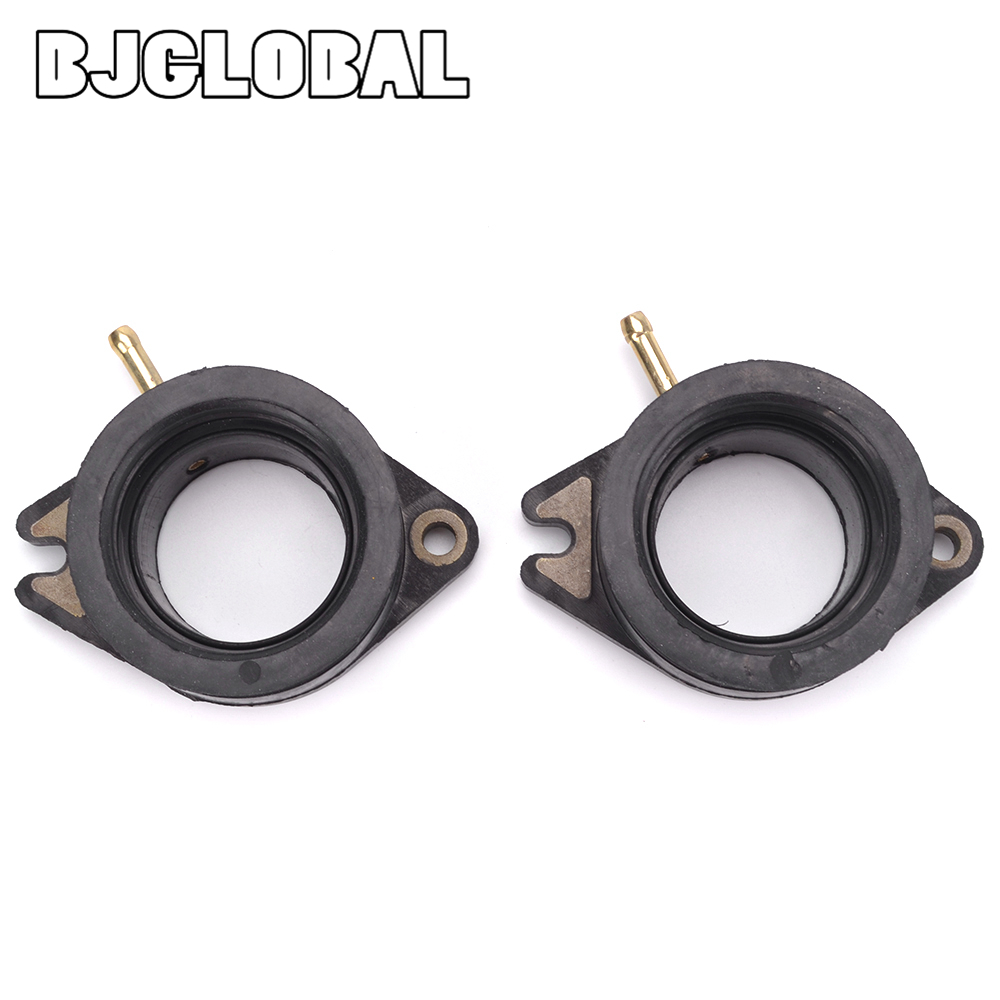 Motorcycle Carburetor Interface Adapter Inlet Intake Pipe Rubber Mat Manifold For Yamaha XV750 Virago 750 1988 1998 24M 13586 01 in Covers Ornamental Mouldings from Automobiles Motorcycles
