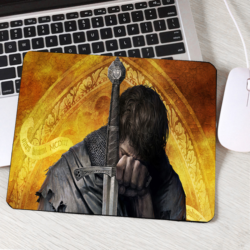 Mairuige Kingdom Come Deliverance Cool Pattern Printed Mousepad Mini Pc Computer Gaming Mouse Pad Gamer Play Mouse Mat Table Pad