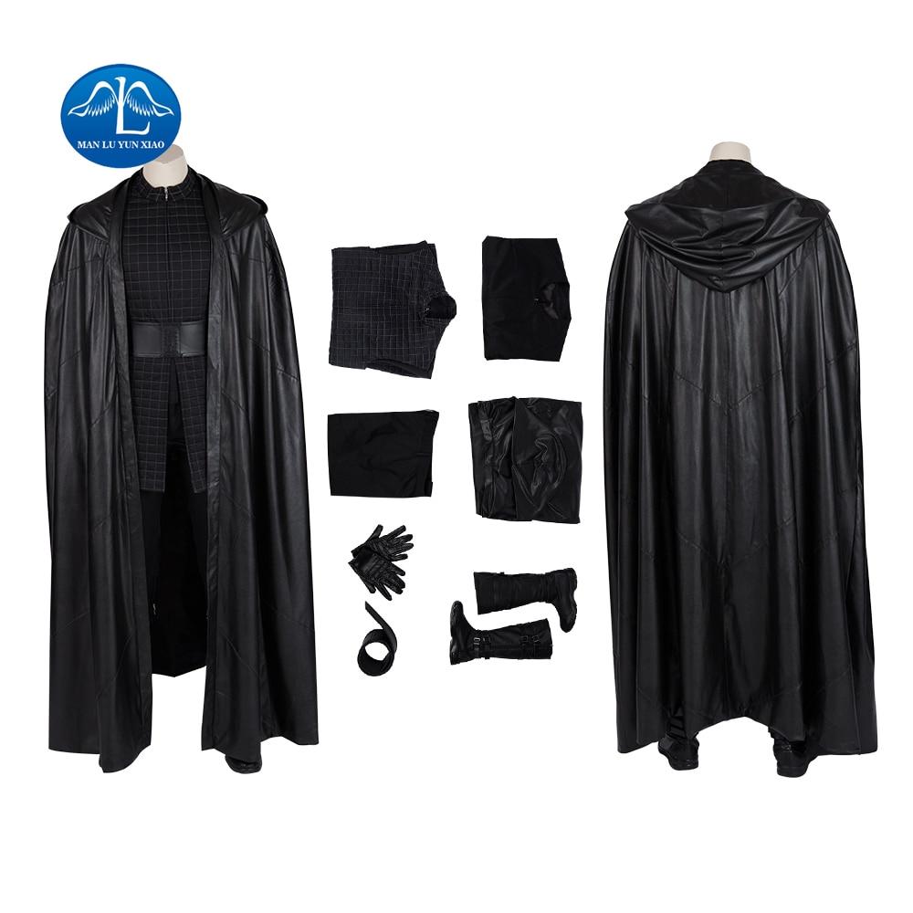 Star Wars 9 The Rise Of Skywalker Kylo Ren Cosplay Costume Ben Solo Uniform Suit Cloak Jedi Robe Adult Men Carnival Costume Aliexpress