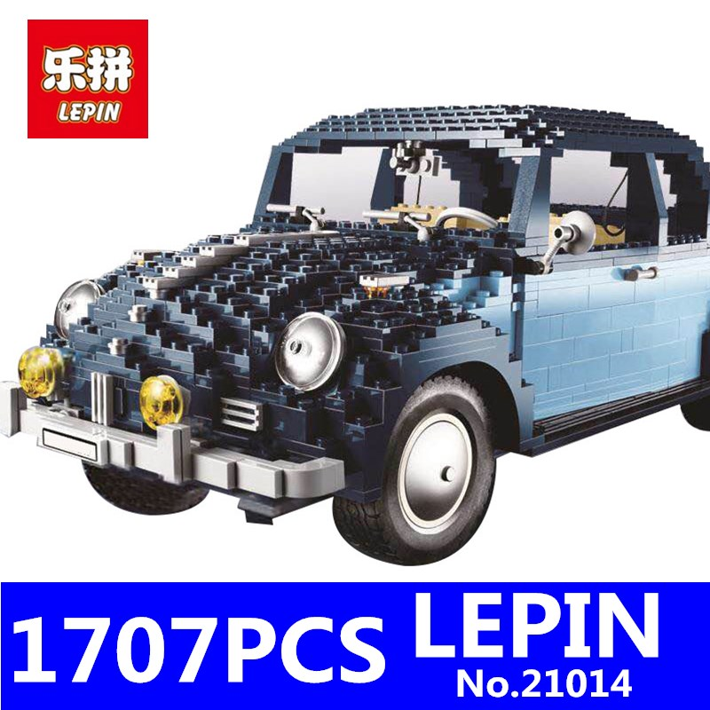 LEPIN 21014 1707Pcs Classic Technic Series The Ultimate Beetle Car Set Children Educational Building Blocks Bricks Toys 10187 lepin 21014 the ultimate beetle building bricks blocks toys for children boys game model car gift compatible with bela 10187