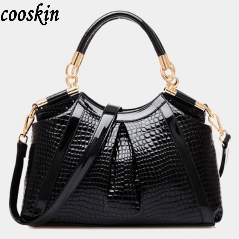 ФОТО Vintage Alligator women messenger bags brand Lady PU Leather Cross Body messenger Shoulder Bag Handbags Women Famous Brands
