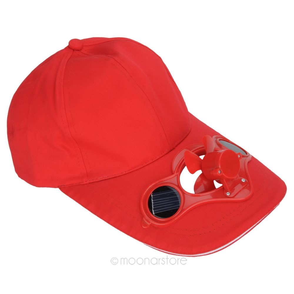 NEW Design Sun Hat with fan Solar Power Hat Cap with Cooling Fan ... 414a086a5e0