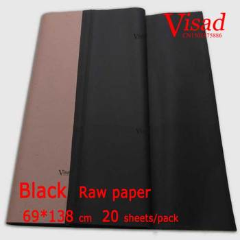 blue Chiese xuan paper,VISAD painting paper,69*138cm raw rice paper drawing decoupage paper