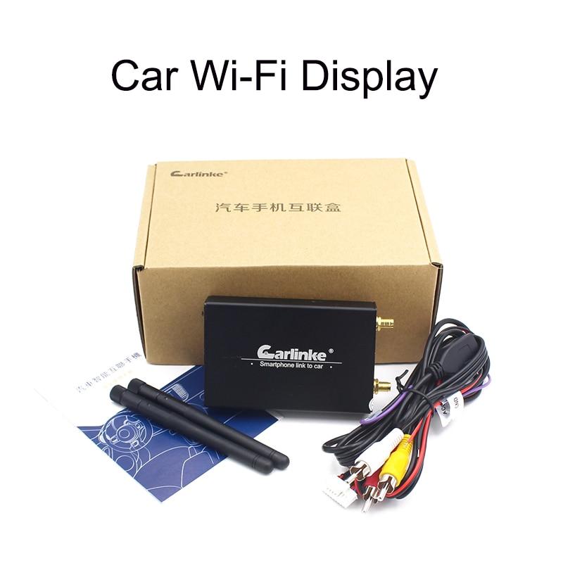 Carlinke Car WiFi Display iOS AirPlay Mirror Link para Car Home Video - Electrónica del Automóvil - foto 6