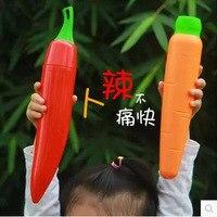 Creative Fruit and Vegetable Series Umbrella Carrot Pepper Sunscreen Umbrella Cartoon Child Umbrella Birthday gift