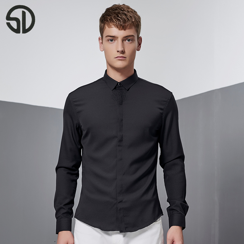 Online Get Cheap Mens Black Oxford Shirt -Aliexpress.com | Alibaba ...