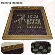 Подушки здравоохранения натуральный Отопление турмалин матрас физиотерапия коврик с подогревом jade подушки подарок Крышка глаз