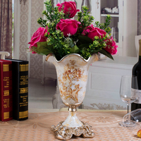 home decor Vintage tabletop vase for house and wedding decoration tabletop ornaments falower vase