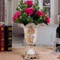 home decor Vintage tabletop vase for house and wedding decoration tabletop ornaments falower vase