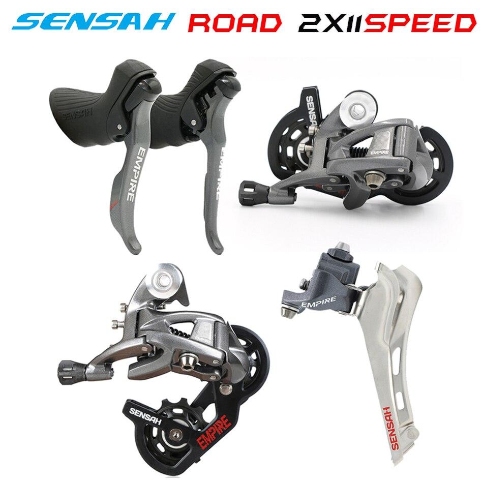 SENSAH REICH 2x11 Geschwindigkeit, 22 s Strabe Gruppen Innen, shifter + Schaltwerke + Umwerfer 5800, r7000