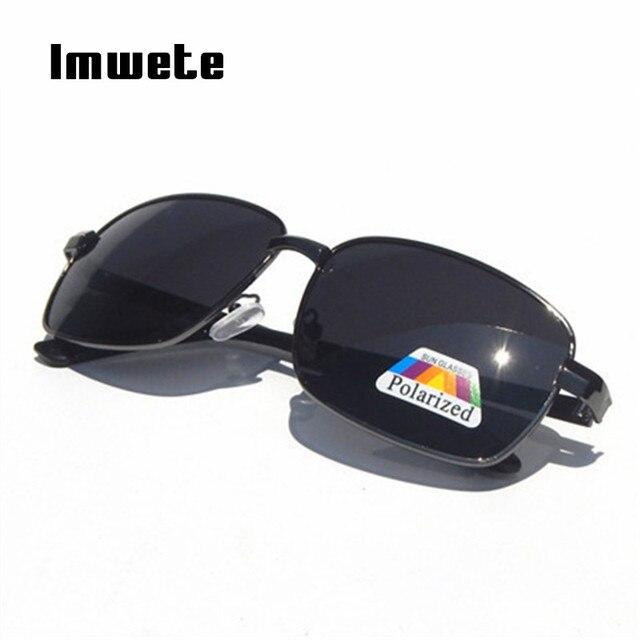 d69ced56804 Imwete Polarized Sunglasses Men Classic Designer Rectangle Goggles  Polarizer Lens Sun glasses Male Vintage Driving Eyewear UV400
