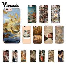 Yinuoda arte pintura nascimento de vênus auto lovec telefone macio capa para iphone8 7 6s plus x xs max 5 5S se xr 10 11 11pro 11promax