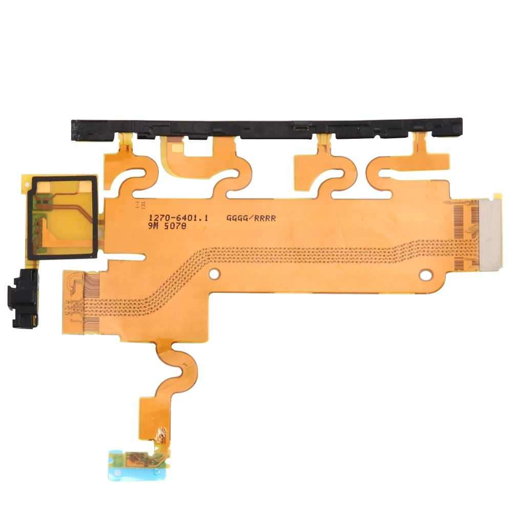 IPartsBuy материнских плат (Мощность и объема и Mic) ленты шлейф для sony Xperia Z1/L39h/C6903