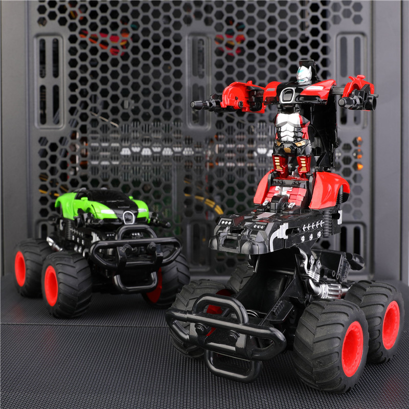 Mini Deformable Robot Diecast Car Toy 2 Types ABS Alloy Collectable Model Car Toys For Children Boys Kid Birthday Christmas Gift
