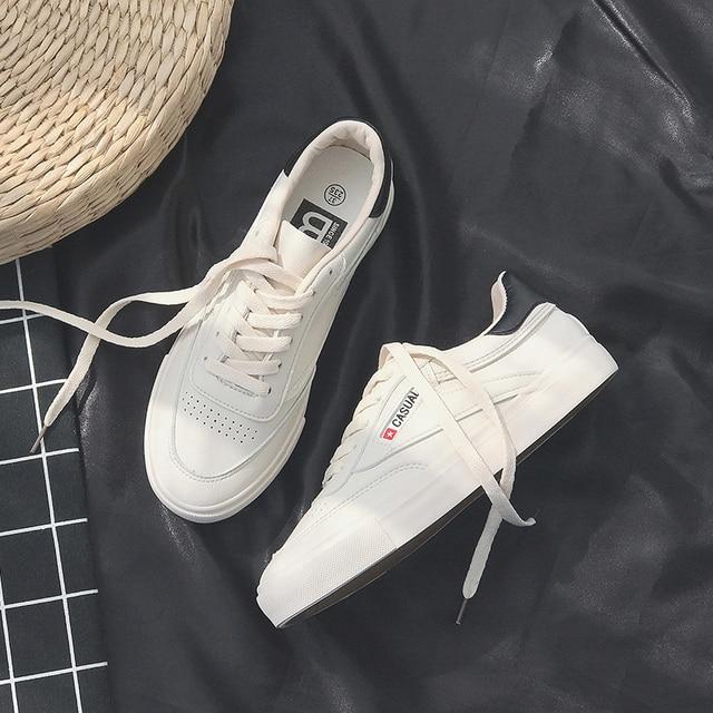 Kadın Ayakkabı Beyaz deri nefes Rahat Moda yüksek kaliteli ayakkabılar