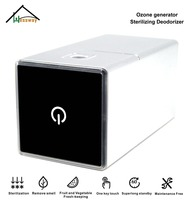 Portable Mini Ozone Generator Ionizer Air Purifier Sterilizing Deodorizer with Car Home USB Battery