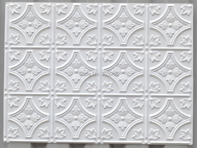 PLB10 Faux Painting Antique PVC Emboss Panels Fireproof