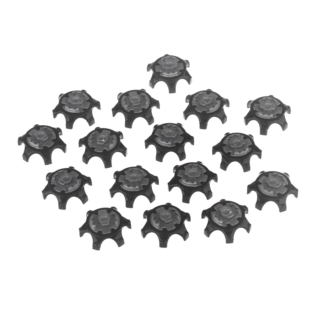 16pcs/Set Easy Replacement Golf Spikes Ultra Thin Cleats for Golf Shoes Ultra Thin Cleats Black Wholesale-in Golf Training Aids from Sports & Entertainment