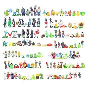 14 стилей Растения против Зомби из Растения против Зомби игрушки Растения против Зомби ПВХ Фигурки набор кукол-игрушек для коллекции вечер... >> Proudness Store