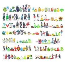 14 stijlen Plants vs Zombies PVZ Toy Planten Zombies PVC Action Figures Speelgoed Pop Set voor Collection Party Decoratie