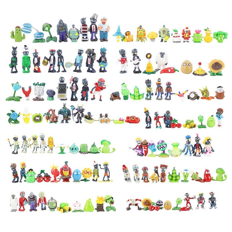 14 styles plantes vs Zombies PVZ jouets plantes Zombies PVC figurines jouet poupée ensemble pour Collection décoration de fête