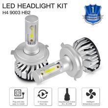 1 Set LED Car Headlight HB2 For Toyota Tundra 2015 3000LM 6500K Hi/Low Beam Bulbs