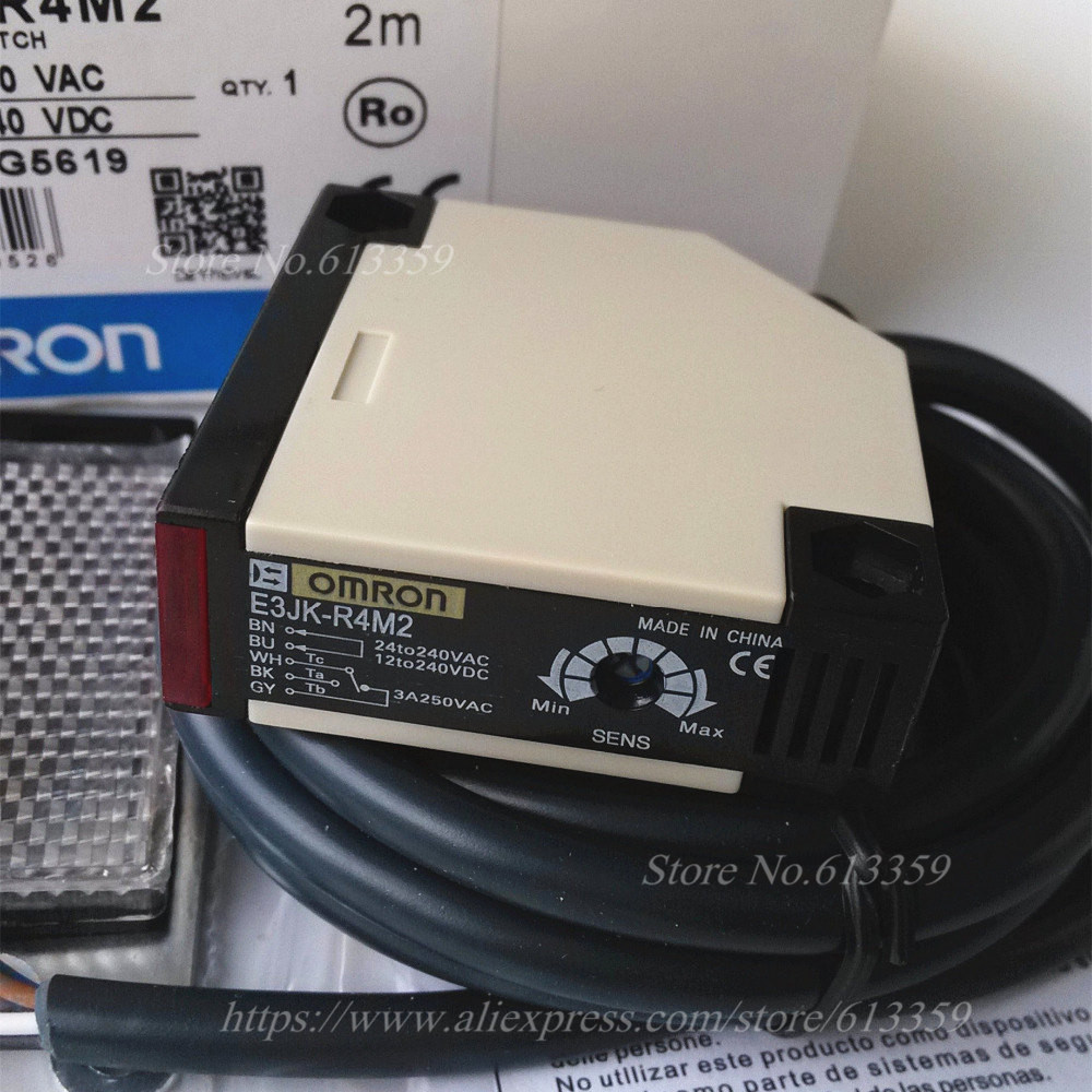 1PC NEW OMRON Photoelectric sensor switch E3JK-R4M2