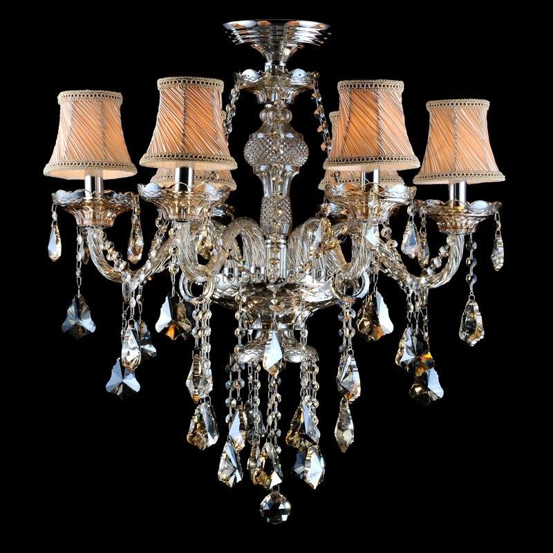 Nový moderní křišťálový lustr domácí osvětlení lustres de cristal dekorace lustry a přívěsky lampa do obývacího pokoje