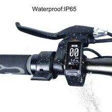 Электрический велосипед lcd мини-дисплей для Bafang BBS01B BBS02B BBSHD среднеразмерный мотор E-bike Конверсионные Комплекты водонепроницаемый регулятор скорости