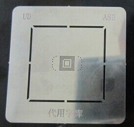 2 unids/lote reparación BGA reball plantilla placa para emmc BGA153 BGA169 A89