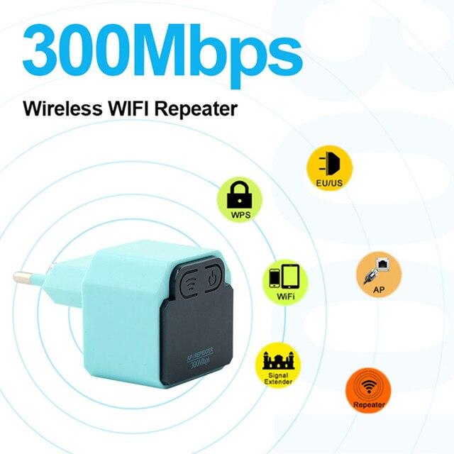 אלחוטי WIFI משחזר 300 Mbps 802.11n מגבר אות נקודת הגישה Wifi Extender 2.4G Wi Fi מגבר Wi-Fi Reapeter