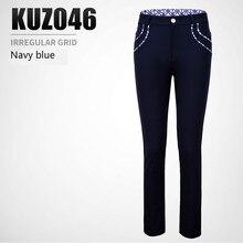 PGM гольф одежда женские мотобрюки Дамы Тонкий Спорт брюки для девочек дышащие спортивные штаны Размеры XS-XL