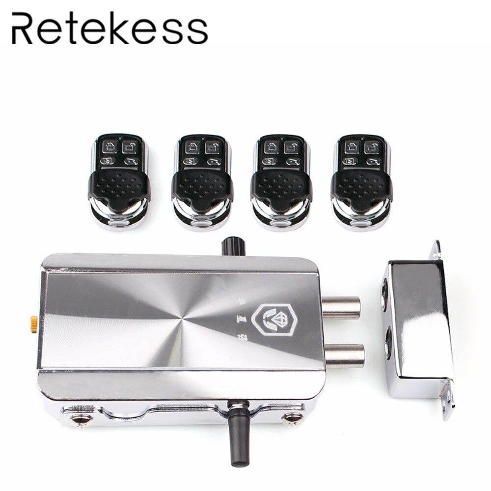 Home Door Lock Remote Control Keyless Entry Electronic Lock Smart Wireless APP Phone Control Lock Deadbolt