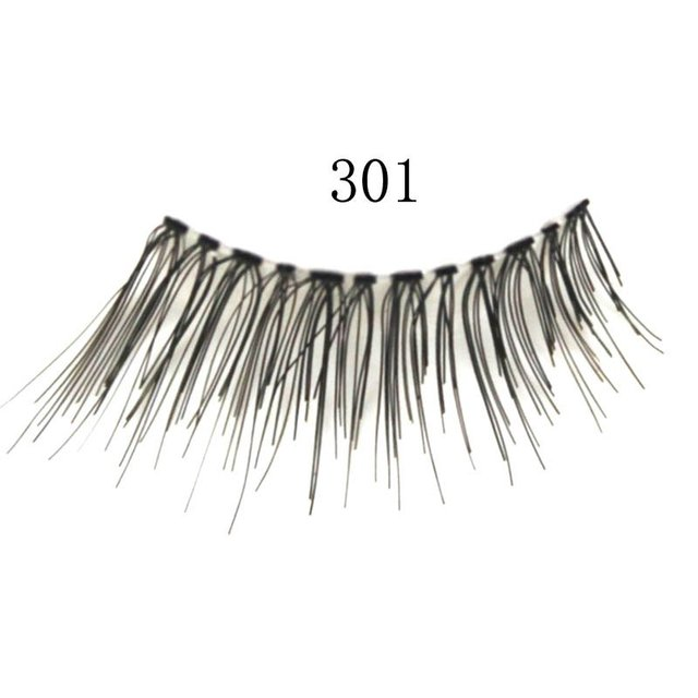 Free shipping,80box/lot ,high quality,(5pairs/box)hand made Princess Lee synthetic eyelash(AK-301)