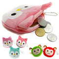 Specials New Cute Kids Mini Coin bags Casual Cartoon Lovely Fox Sheep Purse Girls Small Wallet for Children Gift
