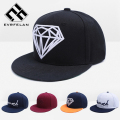 New Fashion Diamond Snapback Cap For Men Women Hip Hop Cap Fashion Baseball Cap Brand Hat Snapback Hat Gorras Drop Shipping