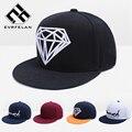 Nova moda diamond snapback tampão para homens mulheres hip hop tampão da forma boné de beisebol marca chapéu snapback chapéu gorras gota grátis