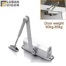Fire door Hydraulic Buffer Door Closer,For 65kg-85kg door,strong and sturdy,adjustable Strength,protect fram, Door Hardware