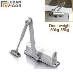 Fire door Hydraulic Buffer Door Closer,For 65kg-85kg door,strong and sturdy,adjustable Strength,protect fram, Door Hardware
