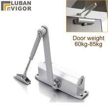 Fogo porta Hidráulica Buffer de Porta Mais Próxima, Para 65 kg 85 kg porta, forte e resistente, ajustável força, proteger fram, Ferragem da porta