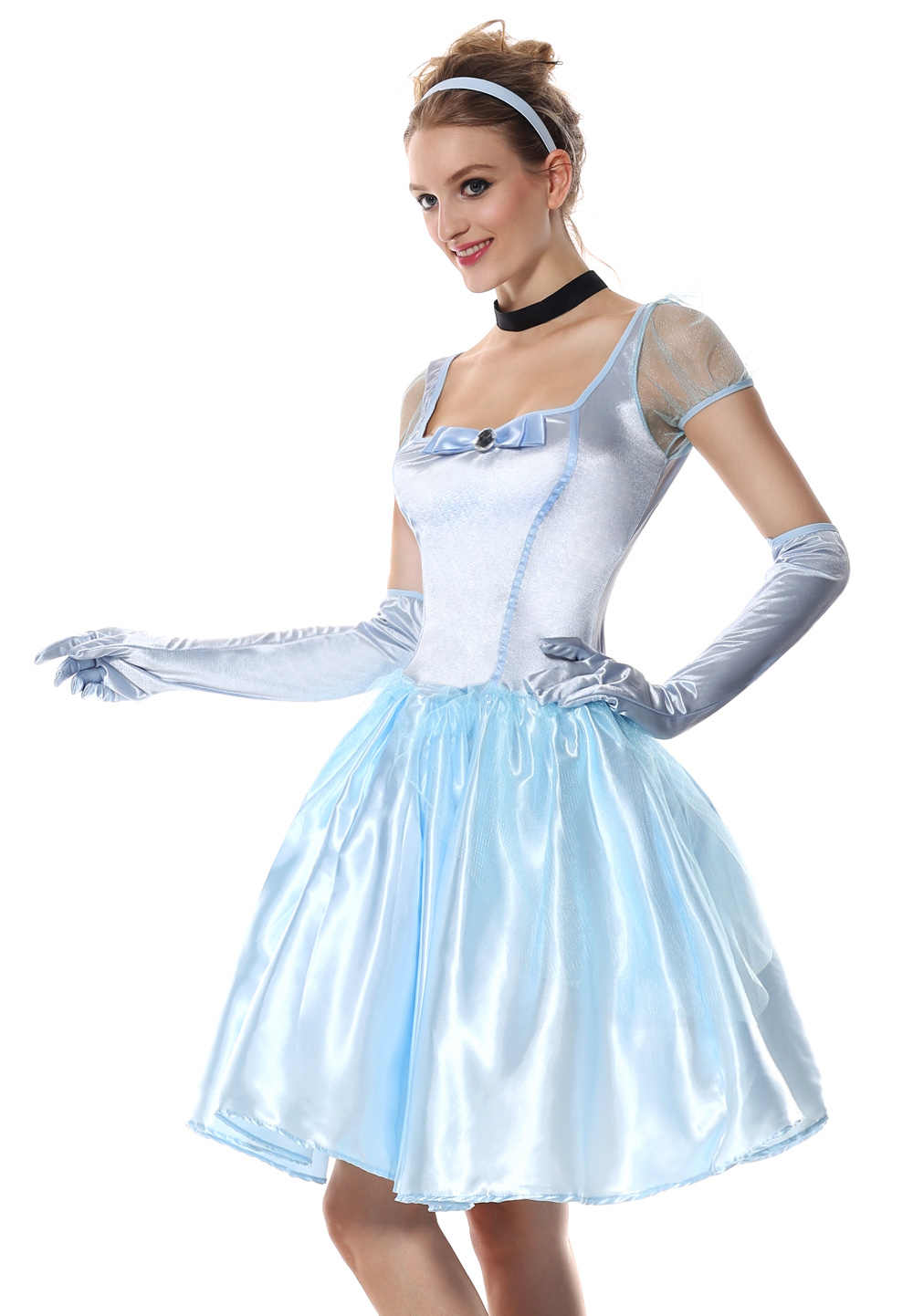 d977004136b3 ... Sexy Princess Cinderella Costume Halloween Party Cinderella Costumes  Adult Women Fairy Tale Cosplay Game Fancy Dresses ...