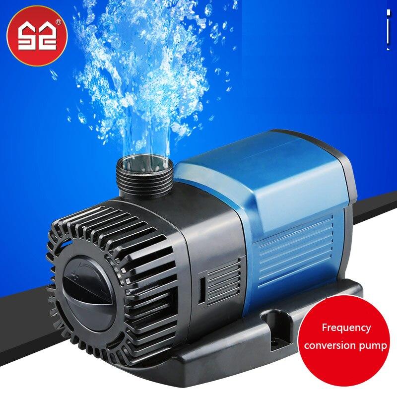 SUNSUN JTP pompe à eau à fréquence variable réservoir de poisson silencieux pompe submersible aquarium pompage étang de poissons cycle de pompe à eau
