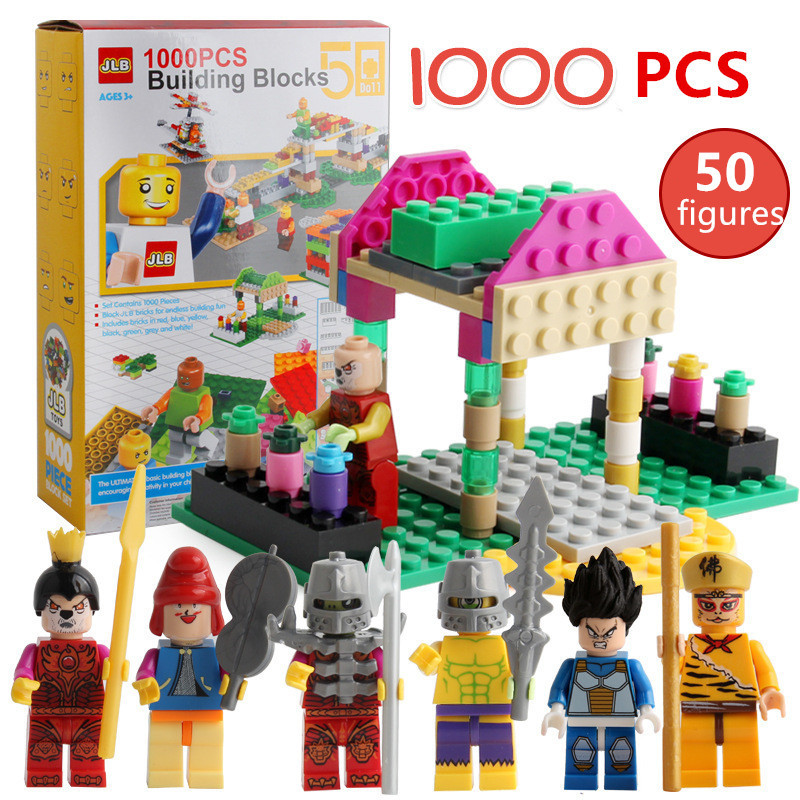 NEW 1000 Pieces Legoings Friends Building Blocks City DIY Creative Bricks Toy Model Educational Building Toys for Children