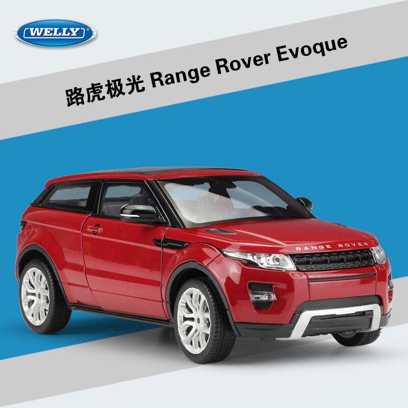 WELLY 1:24 High Simulator Metal Aurora Zemljište Range Rover Sport - Dječja i igračka vozila - Foto 6