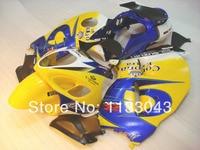 SUZUKI Hayabsa GSXR1300 GSX-R1300 Sarı Corona GSXR Için 7 hediyeler 1300 96 97 98 99 00 01 02 03 04 05 06 07 Fairing