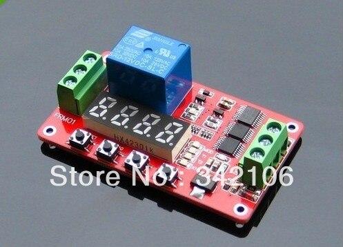Free Shipping!!! 1pcs 12V Relay Cycle Timer Module sensor