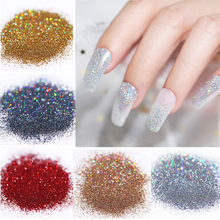 5g Shiny Nail Powder Art Glitter Shimmer Chrome Pigment Dust Holographic DIY Manicure Accessories Design
