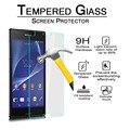 Novo Protetor de Tela de Vidro Temperado para Sony Xperia Z3 Compact Frente Para Trás Filme À Prova de Explosão-para Xperia Mini Z3 D5803 D5833