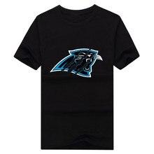 2017 Carolina o-neck Panthers Wallpaper shirt 100% cotton T-shirt
